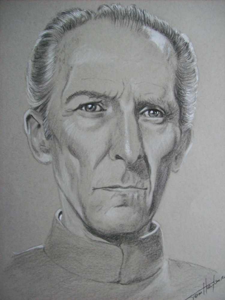 Peter Cushing par Tom-Heyburn